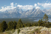 Tranquility Of Grand Teton — Stockfoto