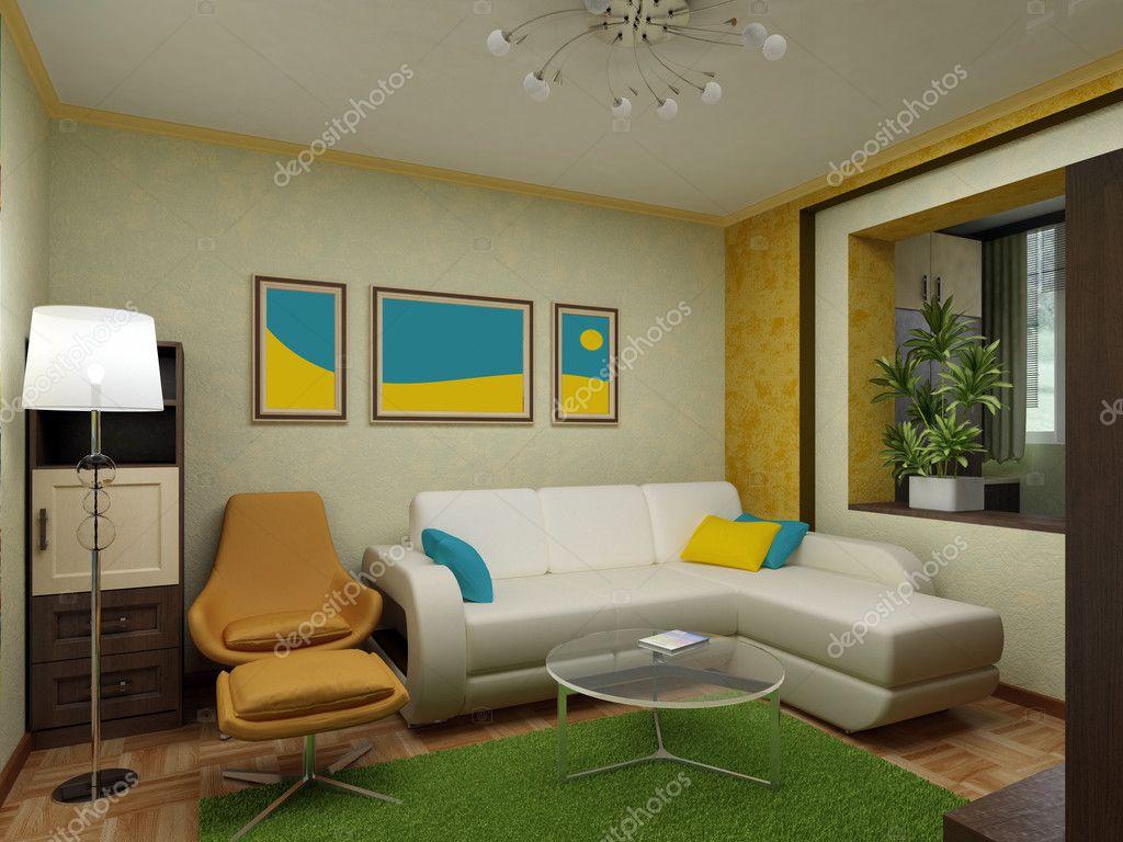 Дизайн гостиной 16 кв м с балконом..