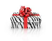 White tiger gift — Stock Photo