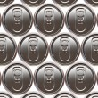 Stock Photo: Aluminium beer cans background
