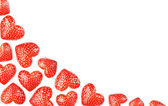 Strawberries background — Stock Photo
