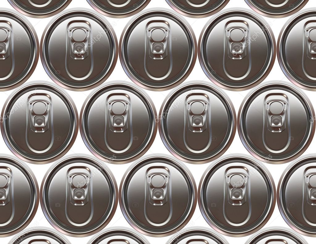 Aluminium beer cans background — Stock Photo #3045311