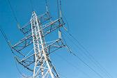 電力線 — ストック写真