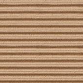 Nahtlose textur der braunen wellen karton ba — Stockfoto