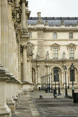 Courtyard Louvre — Stock Photo