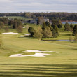 Aerial view of golf course — Stock fotografie #3144611
