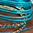 Jewelry, indian bracelet - Stock Photo