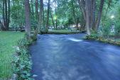 Wodospad na rzece — Zdjęcie stockowe