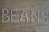 текстурированные фасоль — Стоковое фото
