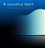 Blue futuristic background — Stock Vector