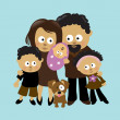 We are Family 2 — Stock Vector