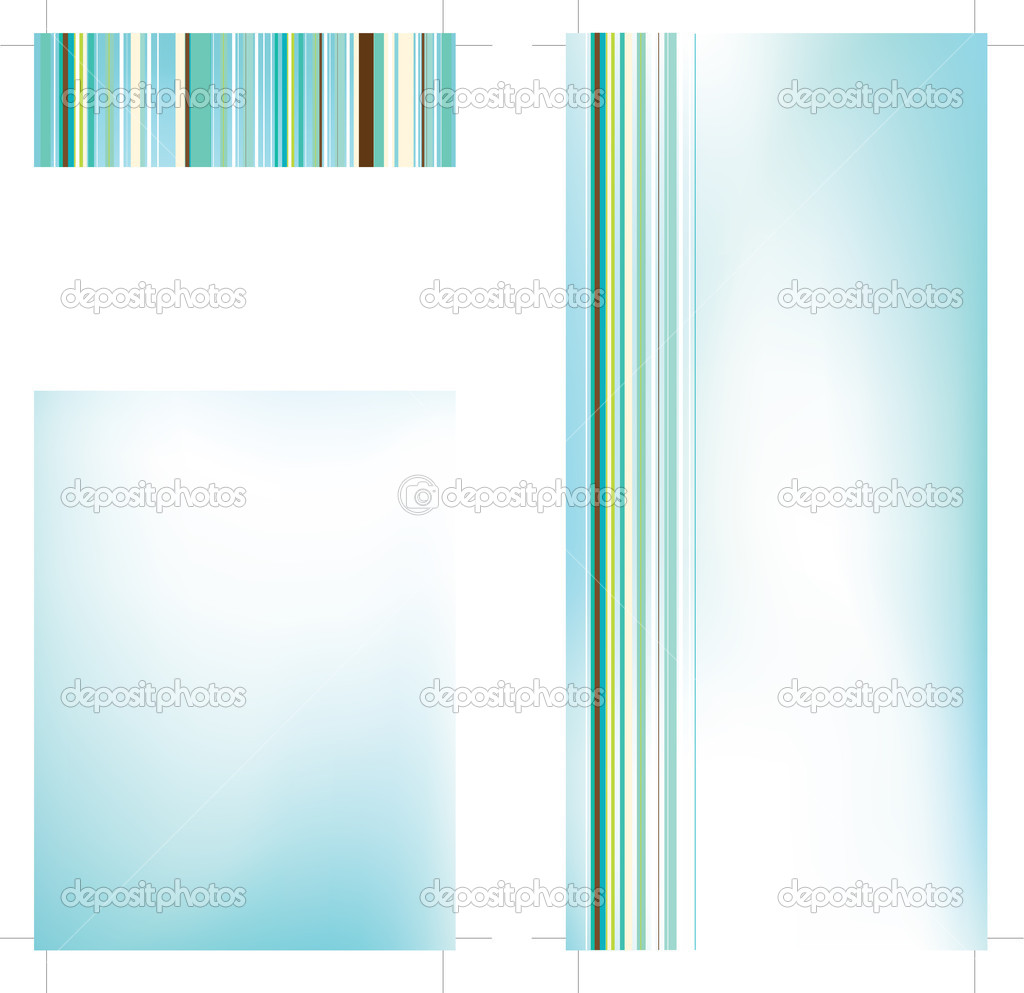 4x9 in. Rack Card Brochure Template — Stock Vector #3090037