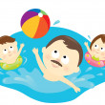 zdrowy styl życia rodziny — Wektor stockowy