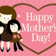 Royalty-Free Stock Vector Image: Happy Mothers Day Banner