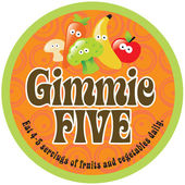 Gimmie Five Promo — Stock Vector