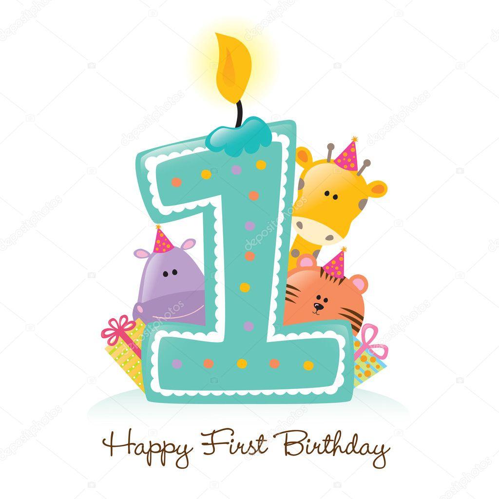 Открытки на день рождения на 1 годик мальчику