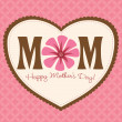 Happy Mothers Day — Stock Vector #3117094