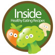 Royalty-Free Stock Vector Image: Healthy Eating Sticker