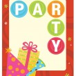 Royalty-Free Stock Vector Image: Party flyer template