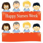 Happy Nurses Week — Stock Vector