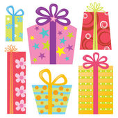 Various Presents/Gifts — Stock Vector