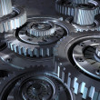 Steel gear mechanism — Stock Photo #3052864