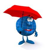 Bad rainy weather — Stock Photo