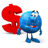 Exchange rates in the world — Stock Photo