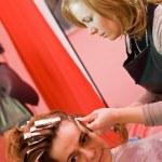 Hair-stylist — Stock Photo
