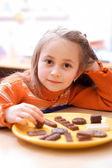 Delicious chocolate — Стоковое фото