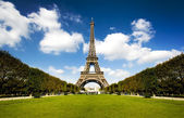 Güzel eyfel kulesi — Stok fotoğraf