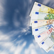 Assortment of Euro banknotes. — Stock Photo #3048213