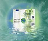 100 Euro world — Stock Photo