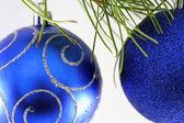Christmas bulbs — Stock Photo