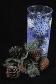 Christmas glass — Stock Photo