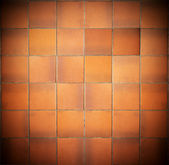 Dirty red tiles — Stock Photo