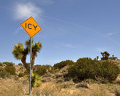 Contraste de sinal — Fotografia Stock