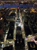 Manhattan night view — Stock Photo