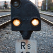 Train signal - Stok fotoraf