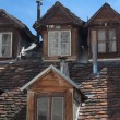 Old dormers. - Stock Photo
