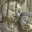 Indian sculpture - Stock Photo