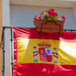 Spanish flag - Stock Photo