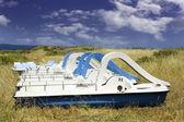 脚踏船 — 图库照片
