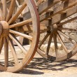 Wagon wheels - Stock Photo