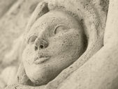 Detail of a statue — Stock Photo