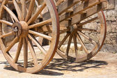 Wagon wheels — Stock Photo