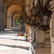 Zagreb Mirogoj cemetary — Stock Photo #3773943