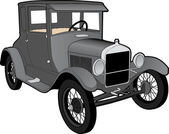 Antique Car — Stock Vector