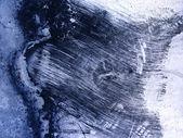 Blauwe achtergrond ruwe textuur krassen — Stockfoto