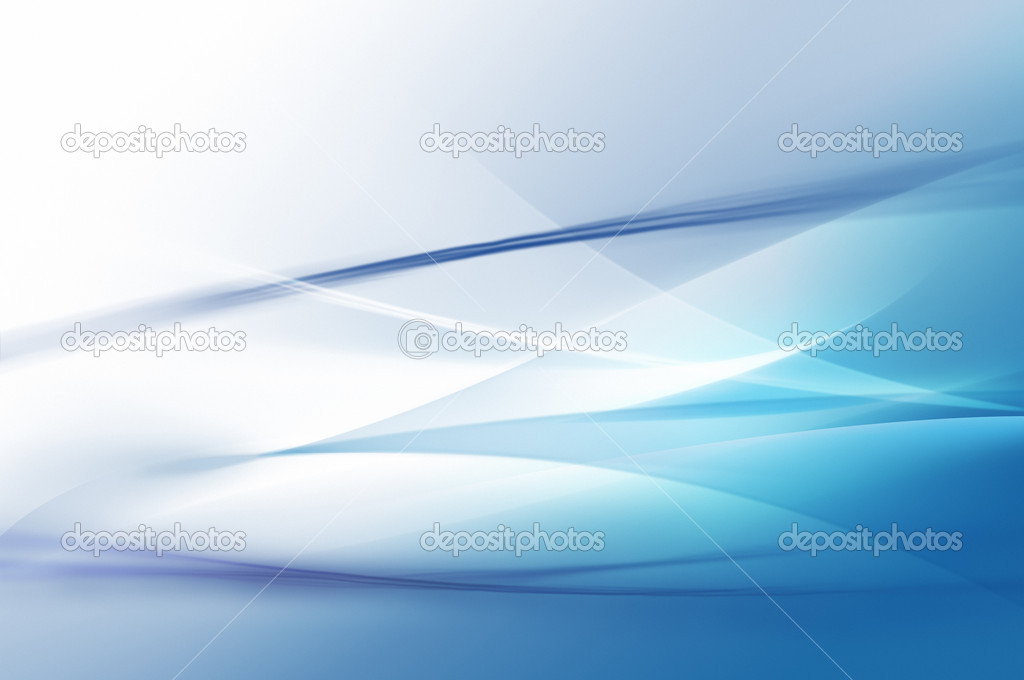 Abstract blue waves or veils background texture  Stock Photo #3078498